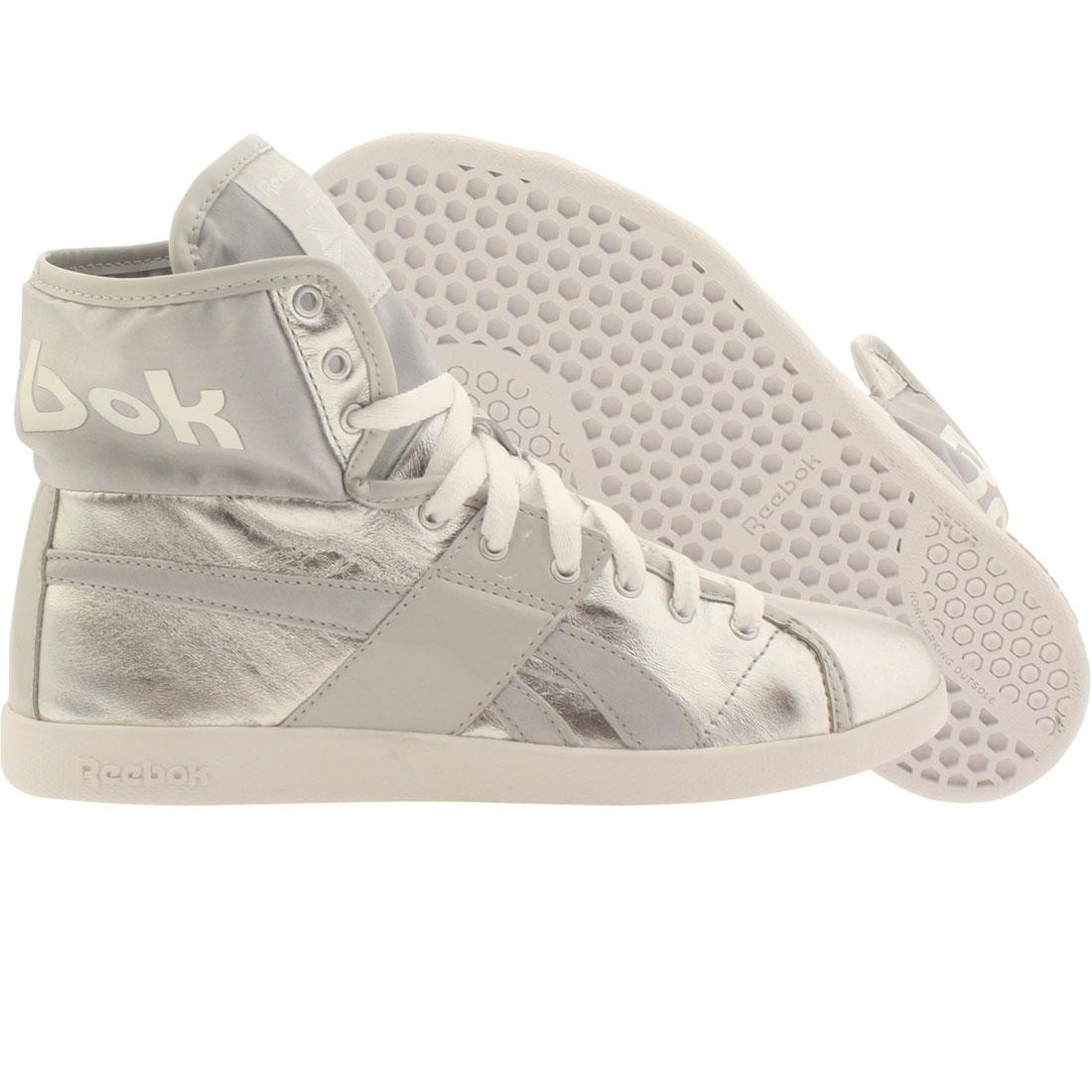 Reebok Womens Top Down Metallics (silver / steel / white)