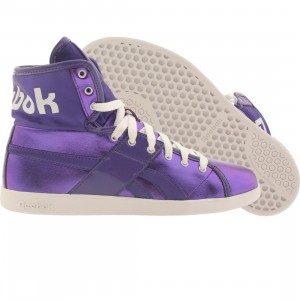 Reebok Womens Top Down Metallics (team purple / purple / white)