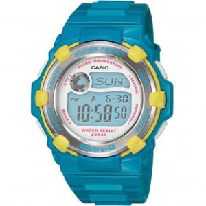 Casio Baby G Chaton Watch (blue / yellow)