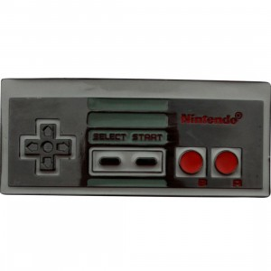 Nintendo Controller Belt Buckle (grey)