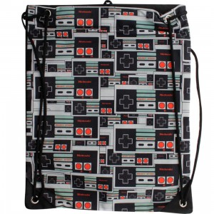 Nintendo Controller Cinch Bag (black)