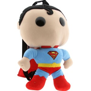 DC Comics Superman Plush Mini Backpack (blue)