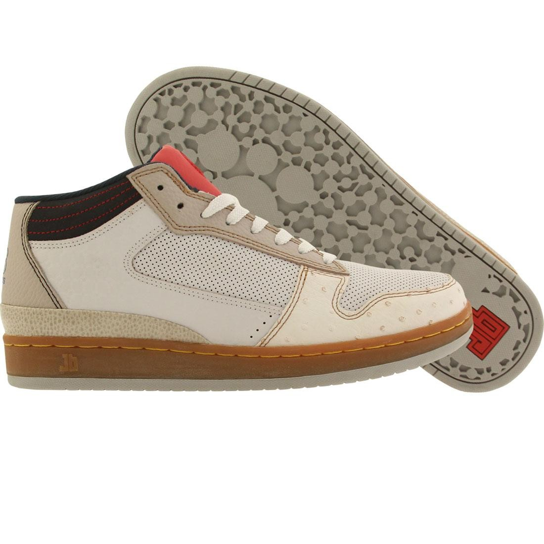 JB Classics Getlo Mid - Navies West (powder / taupe / red)