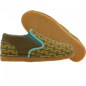 JB Classics Slips Locust (teal / brown / yellow)
