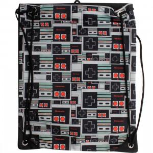 Nintendo Controller Cinch Bag (black)
