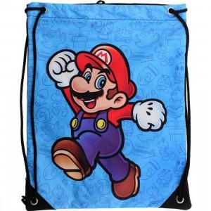 Super Mario Cinch Bag (blue)