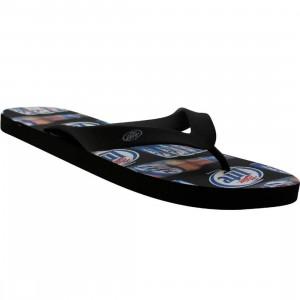 Miller Lite Print Sandal (black)