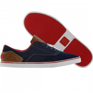 Radii Noble Low (denim / tan / red)